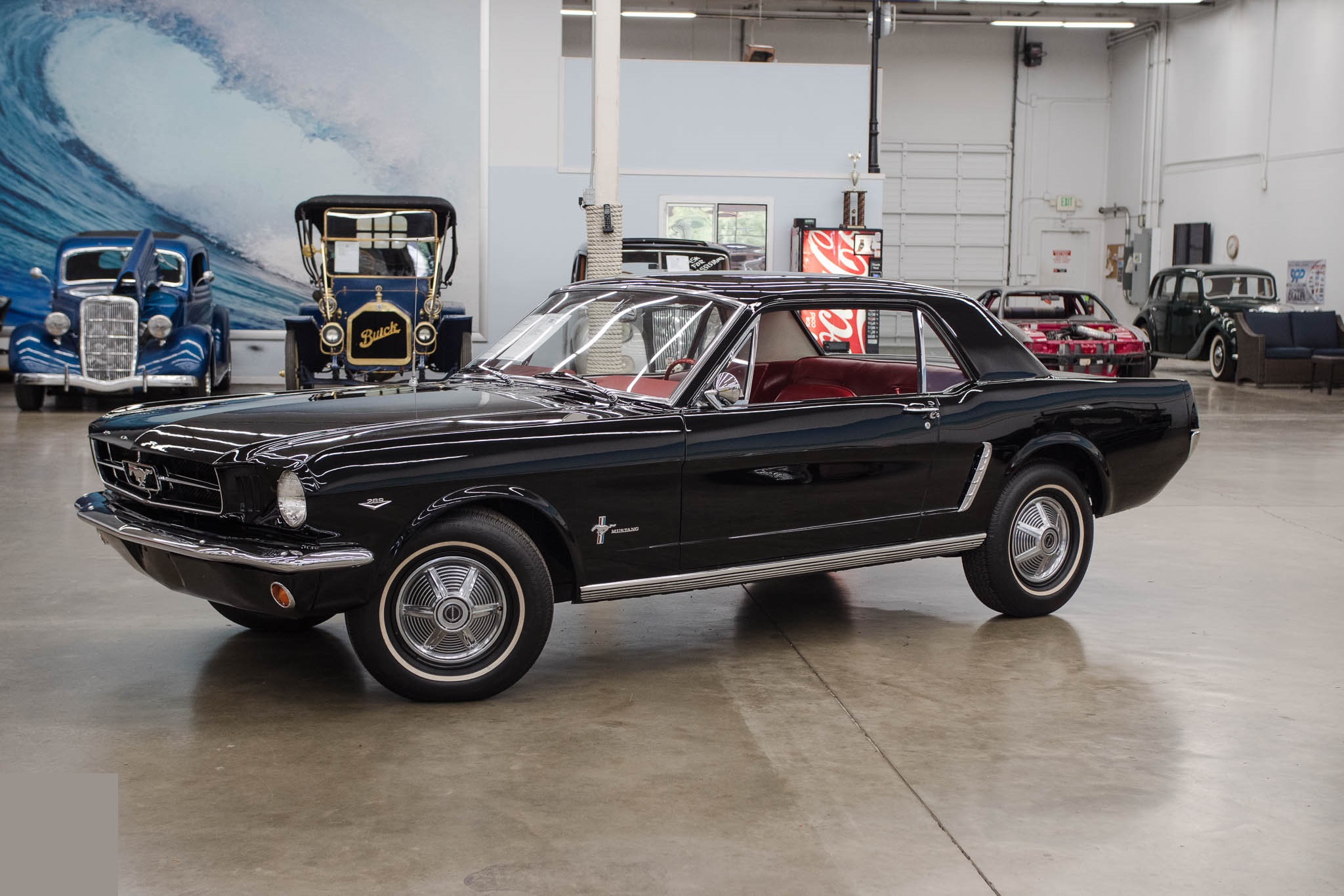 Mustang coupe 289ci V8 Code D automatique 1964 1/233 554 €