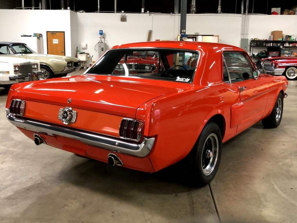Mustang coupe 289 ci V8 Code A Manuelle 1965 28 227€