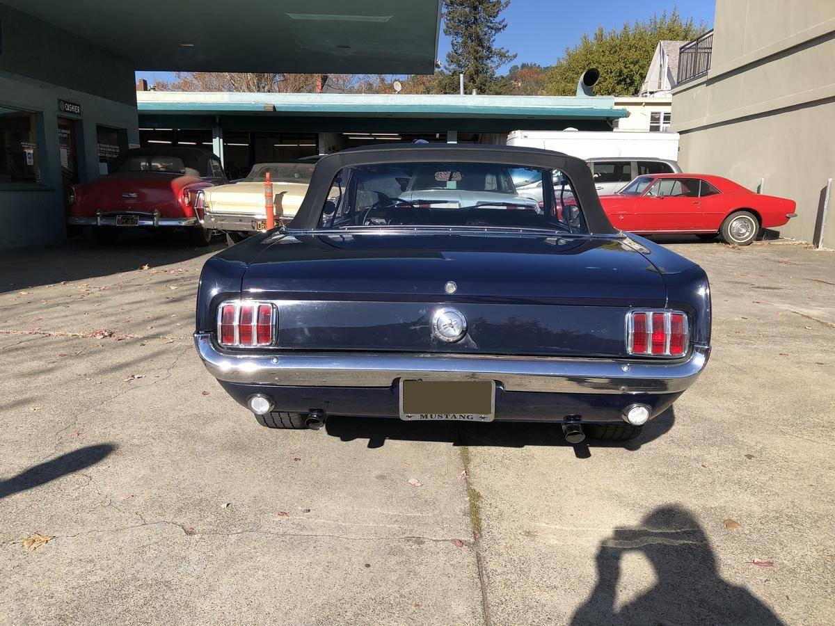 Mustang cabriolet 289 ci V8 Code C Automatique 1966 29 637€