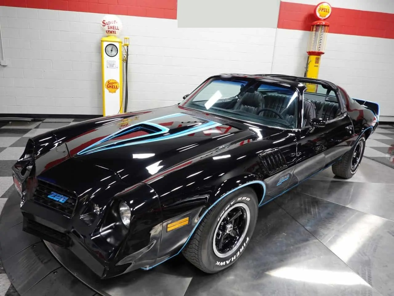 Camaro Z28 T-Tops Berger 350 ci V8 Automatique 197834 249€