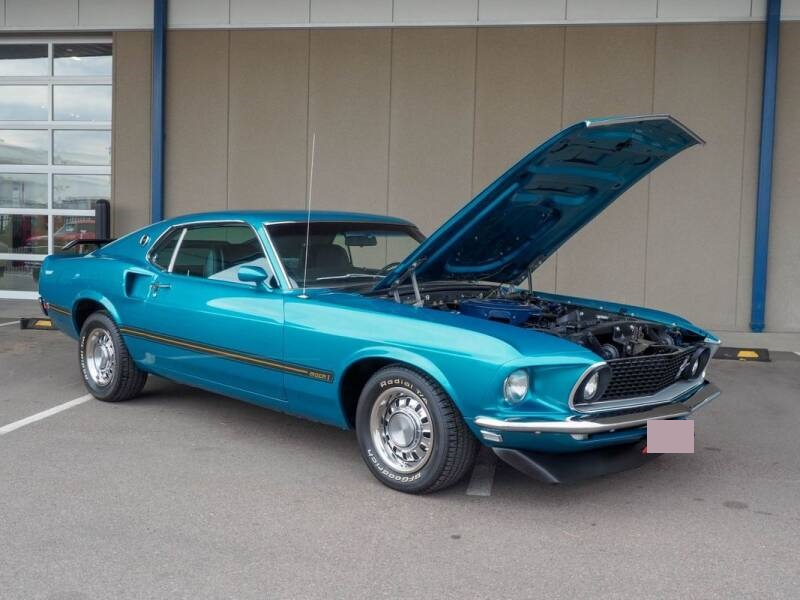 Mustang Fastback Mach 1 351 ci V8 Automatique 196960 876 €